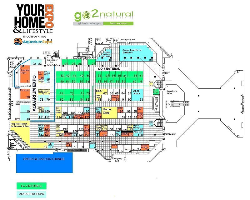 Aquarium Expo Floor Plan